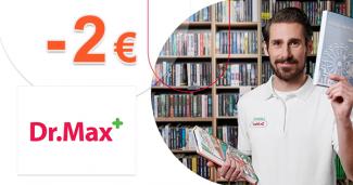 Zľava -2€ na produkty Mixa na DrMax.sk