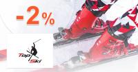 Zľava -2% k nákupu na TopSki.sk + doprava ZDARMA