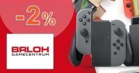 Zľava -2% pre hráčov k nákupu na Brloh.sk