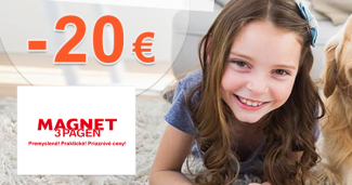 Zľava -20€ na Magnet-3pagen.sk