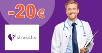 Zľava -20€ na StressFix 2 balenia na StressFix.sk