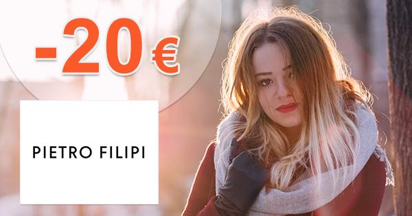 Zľava -20€ na prvý nákup na Pietro-Filipi.com
