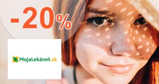 Zľava 20% na Mojalekaren.sk
