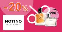 Zľava -20% na Notino.sk