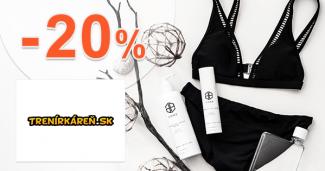 Zľava -20% na TOP značky na Trenirkaren.sk