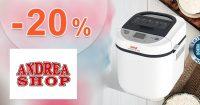 Zľava -20% na domáce pekárne na AndreaShop.sk