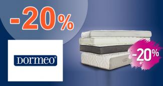 Zľava -20% na matrace na Dormeo.sk