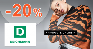 Black Friday zľava -20% na obuv na Deichmann.sk