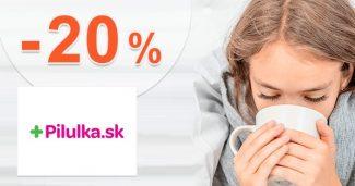 Zľava -20% na produkty CeraVe na Pilulka.sk