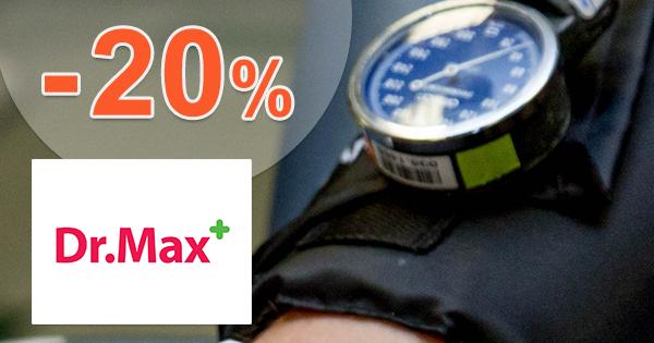 Zľava -20% na ramenný tlakomer na DrMax.sk