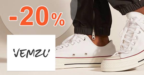 Zľava -20% na sortiment Converse na Vemzu.sk