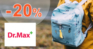 Zľava -20% na sortiment Skip Hop na DrMax.sk