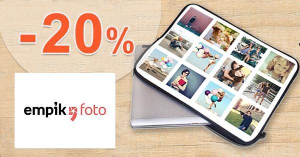 Extra zľava -20% na tlač plagátov na EmpikFoto.sk