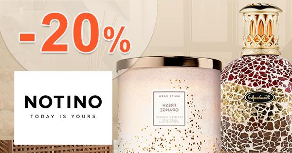 Zľavový kód -20% na vône B&B Works na Notino.sk