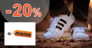 Zľava -20% pre členov Clubu na A-Mania.sk