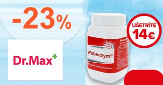 Zľava -23% na liek Wobenzym na DrMax.sk