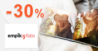 Zľava -30% na štvorcové fotoknihy na EmpikFoto.sk