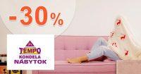 Zľava -30% na druhý matrac na TempoNabytok.sk