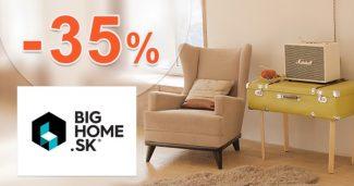 Zľava -35% na stolík Industry v akcii na BigHome.sk