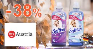 Zľava -38% na aviváže Softlan na myAustria.sk