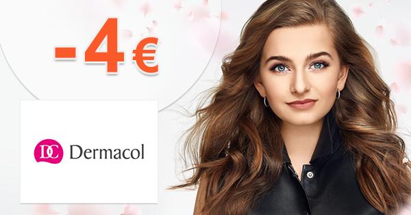 Zľava -4€ na prvý nákup na Dermacol.sk
