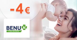 Zľava -4€ k nákupu A-DERMA na BenuLekaren.sk