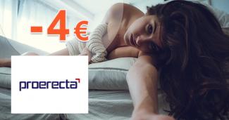 Zľava -4€ na pri kúpe 2 balení na Proerecta.com