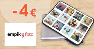 Zľava -4€ na vlastný obal na laptop na EmpikFoto.sk