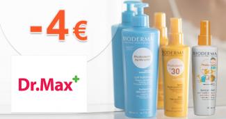 Zľava -4€ za nákup nad 20€ na DrMax.sk