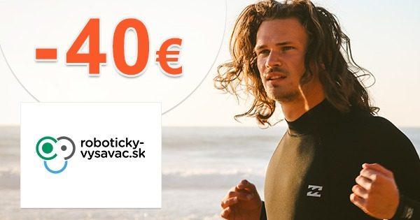 Zľava -40€ na Dolphin E10 na Roboticky-Vysavac.sk