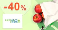 Zľava -40% na BIO vrecká na SuperFood-eShop.sk