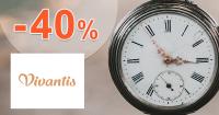 Zľava -40% na Vivantis.sk