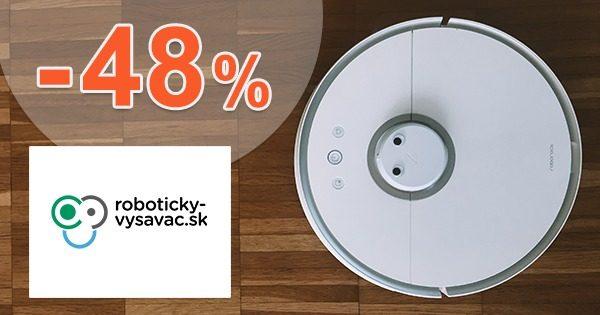 Zľava -48% na robotický vysávač s mopom Symbo