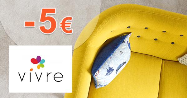 Zľava -5€ k nákupu na VivreHome.sk