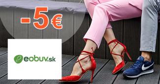 Zľava -5€ na eObuv.sk