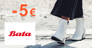 Zľava -5€ na prvý nákup na Bata.sk