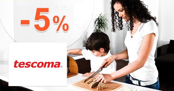Zľava -5% na nákup na Tescoma.sk