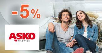 Zľava -5% navyše NA VŠETKO na ASKO-nabytok.sk