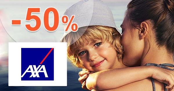Zľava -50% na poistenie Komfort na AXA-assistance.sk
