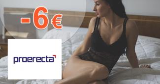 Zľava -6€ na pri kúpe 3 balení na Proerecta.com