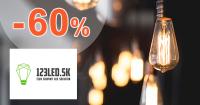 Zľava -60% na 123led.sk