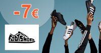Zľava -7€ na všetko na prvý nákup na FootShop.sk