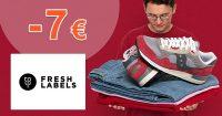 Zľava -7€ navyše na prvý nákup na FreshLabels.sk
