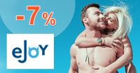 Zľava -7% na 1 balenie tabletiek eJoy LONG na eJoy.sk