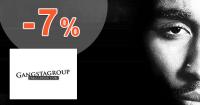 Zľava -7% na prvý nákup na GangstaGroup.sk