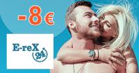 Zľava -8€ na E-REX 24 intímny gél na Erex24.sk