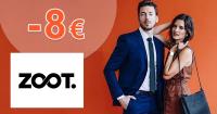 Zľava -8€ na nákup na ZOOT.sk, akcia, kupón