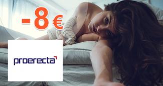 Zľava -8€ na pri kúpe 4 balení na Proerecta.com