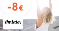 Zľava -8€ na prvý nákup na Amiatex.sk