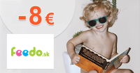 Zľava -8€ na všetko k nákupu na Feedo.sk